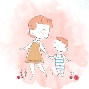 illustration Mam-enfant
